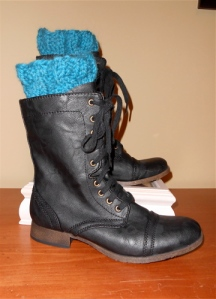 Boot Cuffs in Boots
