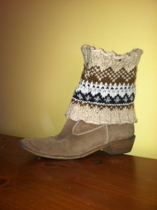 Boot cuff for kendra