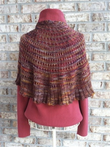 Sunset Shawl 1