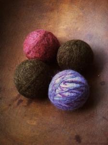 Dryer balls bowl