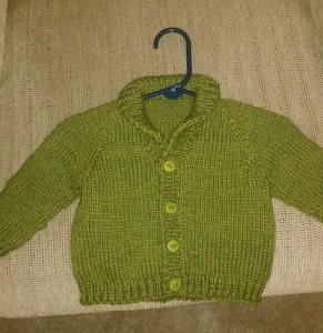 Eli's sweater