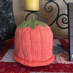 Pumpkin Hat for G-Baby