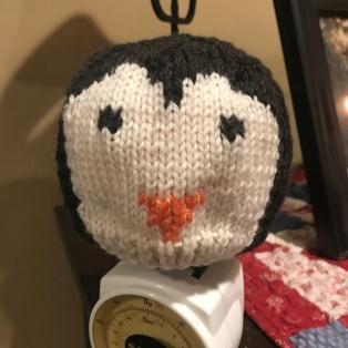 Penguin Hat for G-Baby